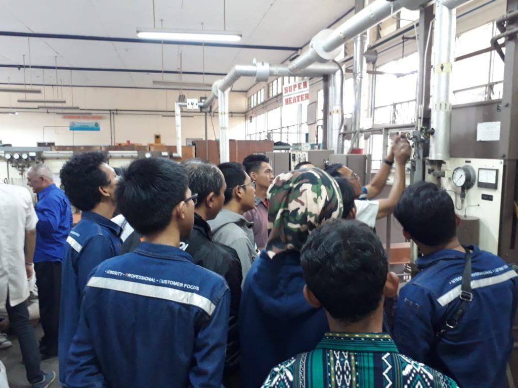 pelatihan operator boiler